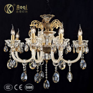 Luxury Glass Crystal Chandilier Lamp (AQ20039-8) pictures & photos