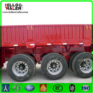 3 Axle 60 Ton Detachable Wall Curtain Side Sidewall Semi Trailer pictures & photos