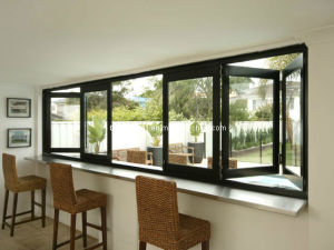 Max Openness Sliding Folding Aluminium Doors and Windows pictures & photos