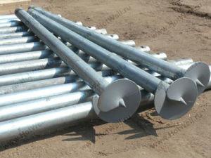 Hot DIP Galvanized Solar Construction Foundation Screw Pile pictures & photos