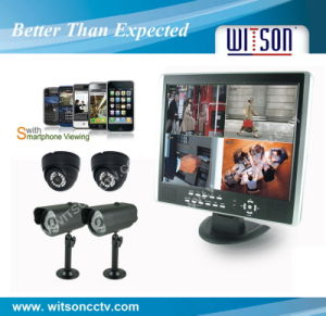 Witson CCTV DVR Security Surveillance System (W3-KD6404CW) pictures & photos