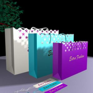 Gift Bags with Lace and Lacy pictures & photos