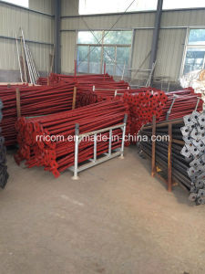 Red Painting Scaffold Post Shoring for Formwork pictures & photos