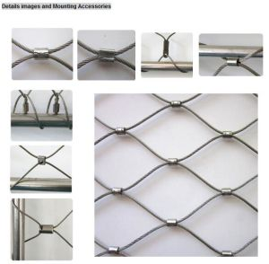 Flexible Stainless Steel Cable Mesh (Ferrule Type) pictures & photos