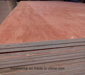Okoume Face Plywood Bb Grade for Furniture pictures & photos