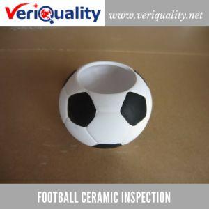 Football Ceramic Quality Control Inspection Service at Dehua, Fujian pictures & photos