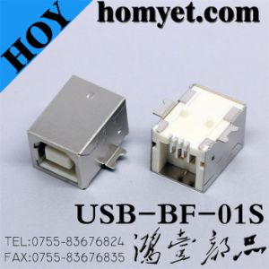 USB Connector with B Type Female SMD for Cable Accessories (USB-BF-01S) pictures & photos