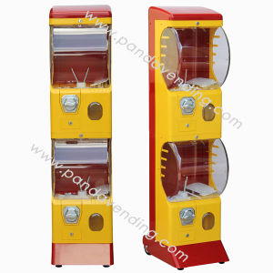 All-Metal Double Decker Toy Vending Machine (TR558) pictures & photos