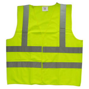 100% Polyester Reflective Vest Yg820 pictures & photos