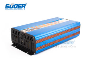Suoer 2000W Pure Sine Wave Power Inverter 12V to 220V Inverter (FPC-2000A) pictures & photos