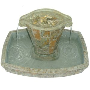 Traditional Resin and Stone Home Fountain pictures & photos