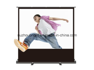 Motorized Floor Screen Portable Projection Screens pictures & photos