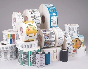 China Label Printing House for Security Label Printing