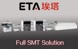 SMT Assembly Line, PCBA Manufacturing Line (printer+mounter+reflow oven) pictures & photos
