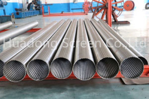 China Water Well Drilling Screen/ Wedge Wire Welded Screen/Johnson Continous Mini Slot Filter pictures & photos