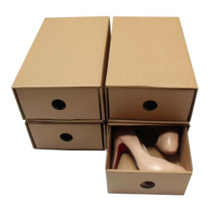 Brown Gift Box for Shoes (XG-GB-068)