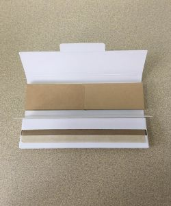 OEM Unbleached/White Filter Tips Smoking Cigarette Rolling Paper pictures & photos