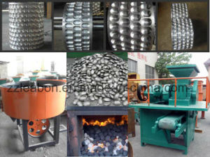 Barbecue and Furnace Coal/Charcoal Dust Powder Ball Press Machine pictures & photos