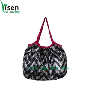 Fashion Paillette Ladies Handbag (YSHB04-001) pictures & photos