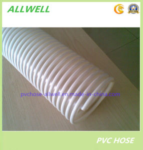 PVC White Spiral Suction Water Hose pictures & photos