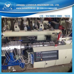 PVC Fiber Reinforced Soft Pipe Extrusion Line/PVC Hose Making Machine pictures & photos