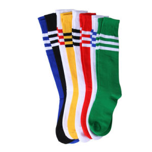 Custom Cheap Mens Sports Rugby Soccer Football Socks Footwear with Your Logo pictures & photos