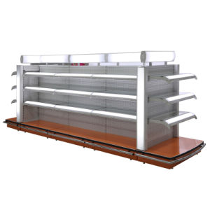 Yd-S2 Double Side Punched Back Board Supermarket Shelf From Suzhou Yuanda (YD-S2) pictures & photos