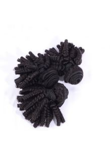 Natural Afro Hair Weave Afro Kinky Curly Hair Bouncy Curly Spring Curl Kinky Afro Human Hair Extensions pictures & photos