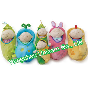 CE Kids Gift Soft Stuffed Animal with Dress Baby Doll Plush Toy pictures & photos
