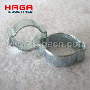 Heavy Duty Galvanized Double Ears Oetiker Clamp pictures & photos