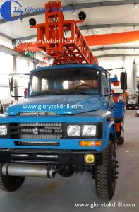 Truck Mounted Model Gl-II Water Well Drilling Rig Used to Drill up 200m Depth pictures & photos