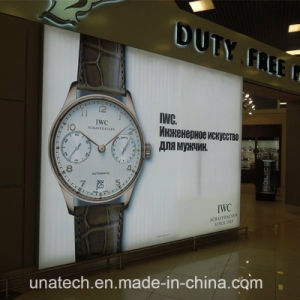 Indoor Wall Mount Frameless Banner LED Light Box Billboard pictures & photos