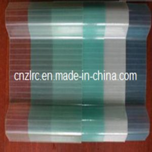 Colored Transparent FRP Corrugated Transparent Sheet for Factory pictures & photos
