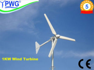 New Small Wind Turbine 300W/400W/600W/1kw/2kw/5kw/10kw/20kw/25kw/30kw pictures & photos