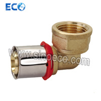 Female Reduced Elbow Fitting Brass for Pex Al Pex Pipe pictures & photos