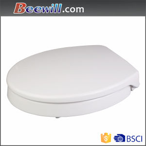 Raised Soft Close Elevated Duroplast Toilet Seat pictures & photos