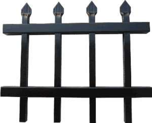 Montage Ornamental Steel Fence /Wrough Iron Fence pictures & photos