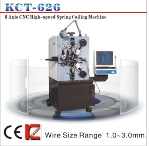 Kct-626 1.0-3.0mm 6 Axis CNC Compression Spring Coiling Machine&Spring Coiler pictures & photos