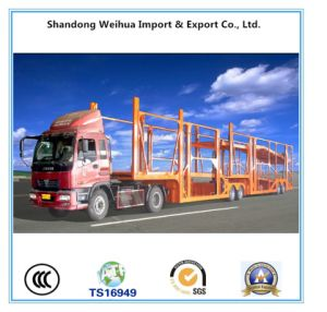 China Car Carrier Semi Trailer, Low Bed Trailer From Manufacture pictures & photos