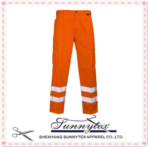 High Vis Pants Reflective Safety Yellow pictures & photos