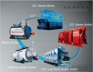 Horizontal 8t / H 3 Pass Wet Back Fire Tube Steam Boiler pictures & photos