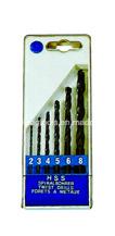 6PCS Twist Drill Sets (H601)