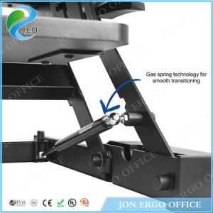 Gas Lifting Height Adjustable Sit Stand Desk (JN-LD02-A2) pictures & photos