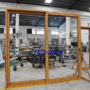 Aluminum Thermal Break Glass Sliding Door pictures & photos
