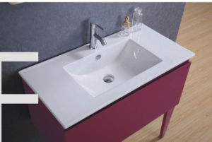 Hot Sale MDF Bathroom Furniture with Sink (SW-MF1202) pictures & photos