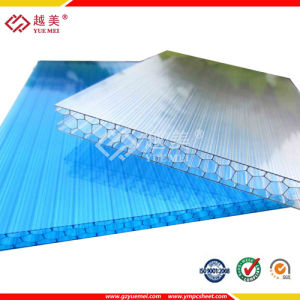 Construction Material Polycarbonate Plastic Honeycomb Panel pictures & photos