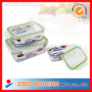 Heat-Resistance Glass Crisper with Lid pictures & photos
