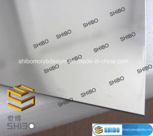 99.95% Pure Polished Molybdenum Plates pictures & photos