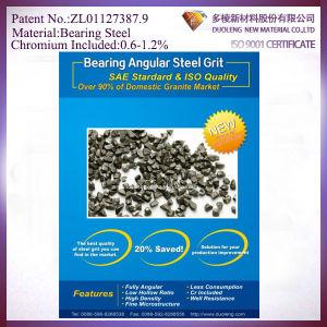 Fatigue Resistance Steel Grit G25 for Sand Blasting