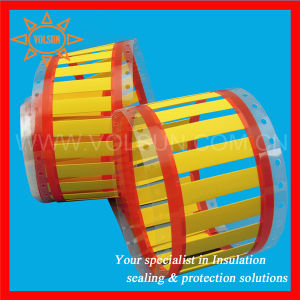 Yellow Oil Resistance Heat Marker Label for Wire/Cable pictures & photos